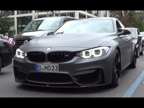 BEST OF BMW Sounds 2015 | M3 Akrapovic Straight Pipes, M4, M5, M6 & More!