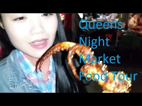 Queens International Night Market Food Tour  (2015