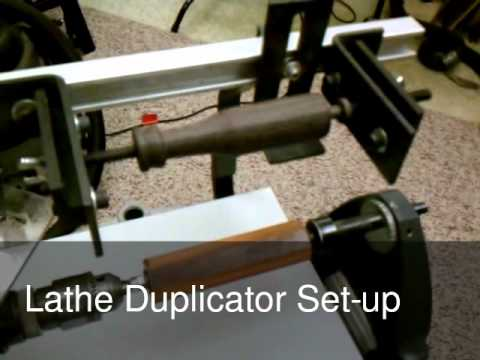 Wood turning lathe duplicator