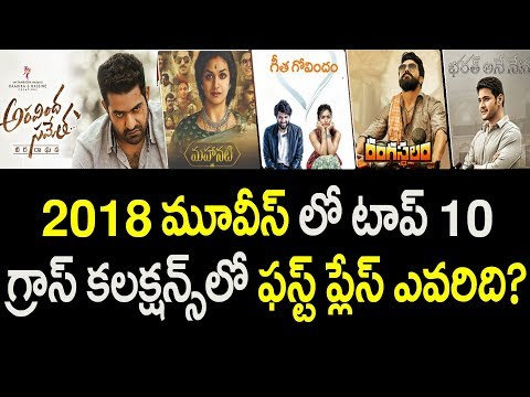 Tollywood Top 10 Movies in 2018 Gross Collections | Ram Charan | Jr NTR | Mahesh | Vijay Deverakonda