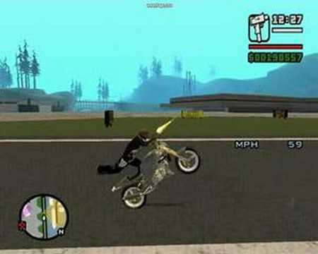 gta san andreas stunts con motos