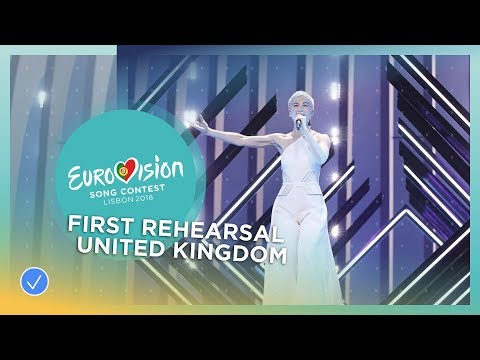 SuRie - Storm - First Rehearsal - United Kingdom - Eurovision 2018