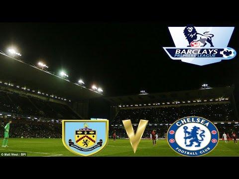 Barclays FA Premiership Burnley 1 v 3 Chelsea 18 August 2014