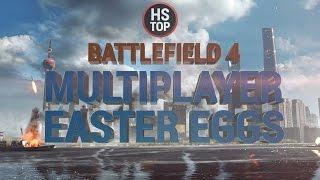 Top 20 Multiplayer Easter Eggs ★ Battlefield 4