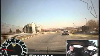 Conduciendo un Lamborghini Gallardo en el Jarama