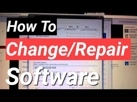 How to Repair IMEI with software and example