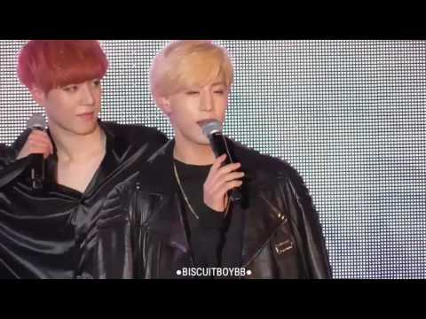 160511 (Fancam) GOT7 DISTRICT Fly for the world press conference (Full)