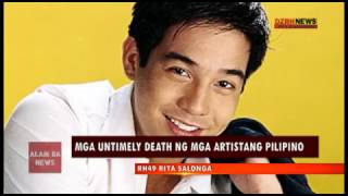 Alam Ba News: Untimely death of Philippine showbiz personalities