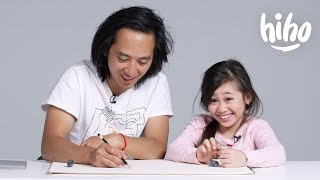 Kids Describe Their Parents to an Illustrator  Kids Describe  HiHo Kids
