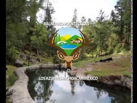 Balneario Puentecillas Los Azufres Michoac 193 N Youtube
