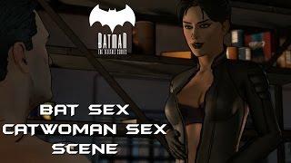 BATMAN Telltale Games: Catwoman Sex Scene Episode 3 (All Options)