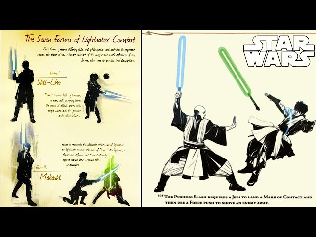 ALL 7 LIGHTSABER FIGHTING STYLES EXPLAINED IN-DEPTH - Star Wars Explained