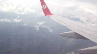 Ucus Trabzon  Istanbul Turkish airlines 2008 part 3 by Göcebe