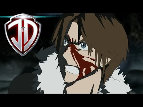 FINAL FANTASY VIII Anime Fanimation Squall VS Seifer