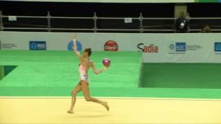 Rio de Janeiro - Test Event: Veronica Bertolini / Palla (All-around)