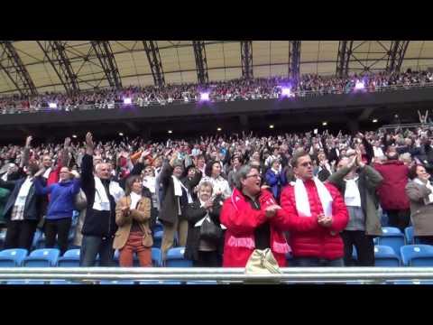 1050 Rocznica Chrztu Polski Stadion Poznań - Ojciec