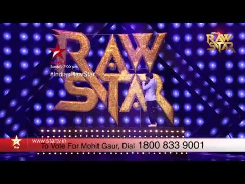 India's Raw Star Episode 13: Vote for Mohit