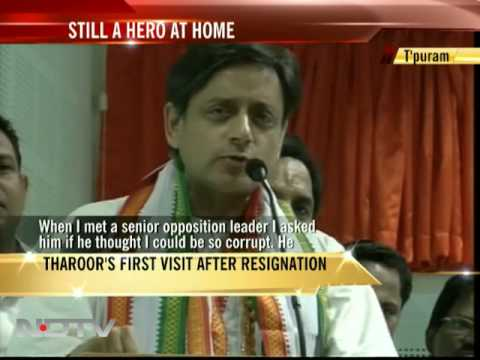 Shashi Tharoor still a hero in Kerala