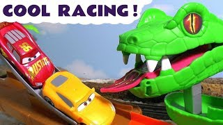 Disney Cars Toys McQueen Cars 3 cool racing with Hot Wheels Avengers Car and funny Funlings TT4U