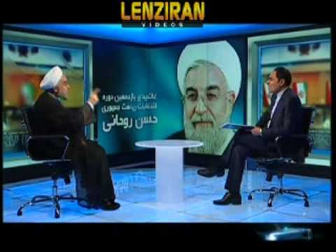 Hasan Rohani Dispute With Presenter And Attack Iranian Tv For His Stand video