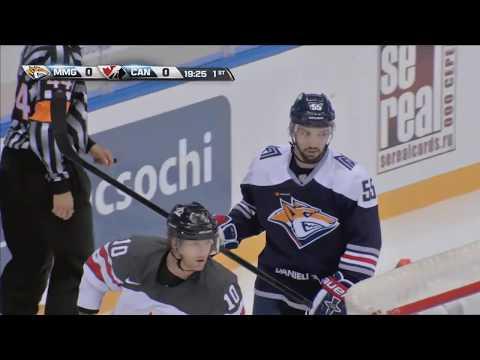 Sochi Hockey Open. Матч за 3-е место Металлург Мг — сборная Канады