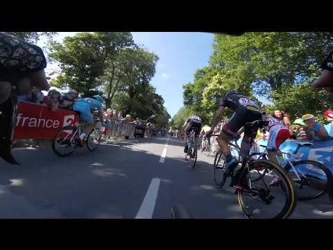 #InsideOut - On Board footage of Le Tour de France stage 8