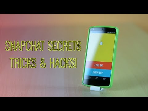 SnapChat Secrets. Tricks and Hack - Screenshots. Colors. Effects!