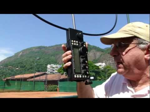QRP DX made with a Handheld HF System - Elecraft KX3 and a AlexLoop  Antenna PY1AHD ...CX8SD