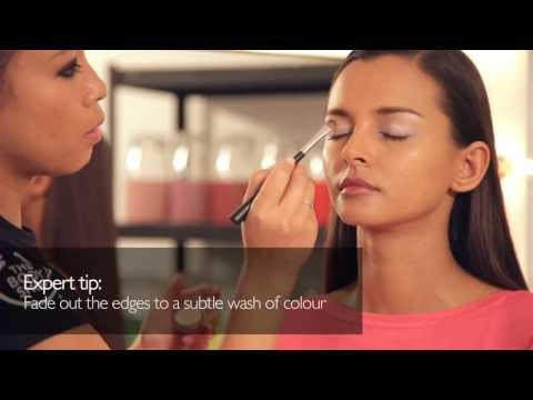 Get The Look   Colour Crush Smoky Eye with Flirty Pink Lips    The Body Shop