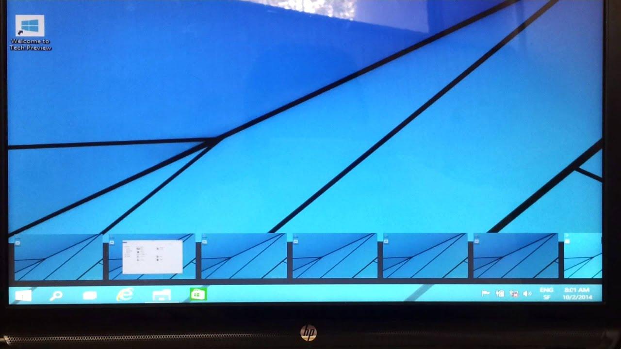 Bureau multiples windows 10 youtube for Bureau windows 10