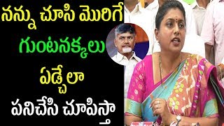 MLA Roja Power Punches to Chandrababu | APIIC InCharge Chair Person Seat Issue | Cinema Politics