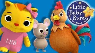 Cock A Doodle Doo   Nursery Rhymes   By LittleBabyBum!