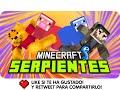 MINECRAFT SERPIENTES!! | Minecraft Snakes con Gona y Luh