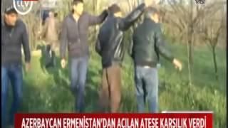 ERMENİSTAN AZERBAYCAN'I VURDU, SİVİLLER HAYATINI KAYBETTİ