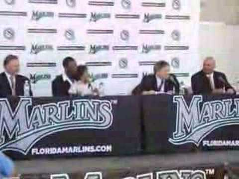 Hanley Ramirez Contract Signing Video
