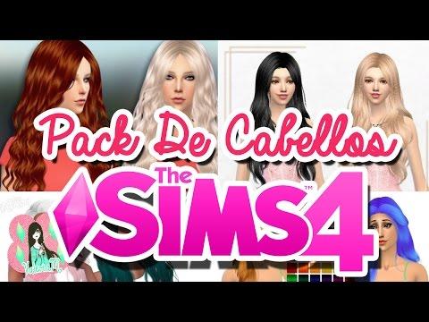 Los Sims 4: Descargas Pack De cabellos