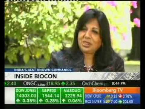 Inside Biocon - Bloomberg TV - 6th March 2013