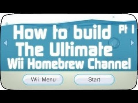 How to Build the Ultimate Nintendo Wii  Homebrew Channel using Letterbomb Part 1