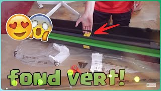 DEBALLAGE DU FOND VERT ELGATO GREEN SCREEN !