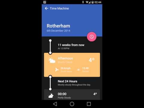 Weather Timeline - Forecast APK Cover