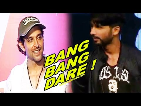 Shahid Kapoor & Hrithik Roshan's Biggest Bang Bang Dare | MUST WATCH | #BangBangDare