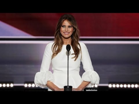 Melania Trump: I wrote the speech with a little help