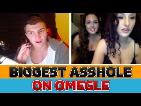 Biggest Ass-hole Ever On Omegle! video