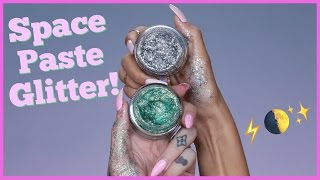 TESTING OUT VIRAL 'SPACE PASTE GLITTER' feat. Laura Lee
