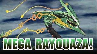 Mega Rayquaza Revealed for Pokémon Omega Ruby and Pokémon Alpha Sapphire!