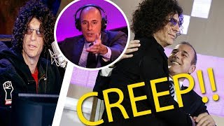 Howard Stern Calls Matt Lauer a CREEP!!!