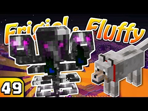 FRIGIEL & FLUFFY : LE WITHER FANTOME | Minecraft - S5 Ep.49 thumbnail