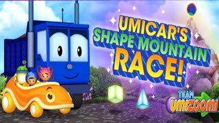 Team Umizoomi - Umi Car's Shape Mountain Race ( Educational Video Game For Kids )