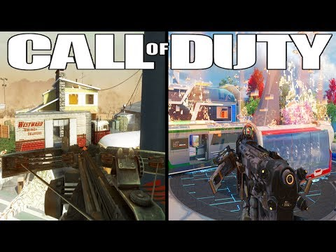 The Evolution of Gun Game (Gun Game in Every Call of Duty)