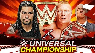 Download WWE Extreme Rules 2017 Brock Lesnar vs Roman Reigns WWE Universal Championship Match 3Gp Mp4